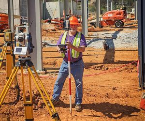 Land Surveyor Danny Moore of Surveying Solutions Inc. in Birmingham Alabama