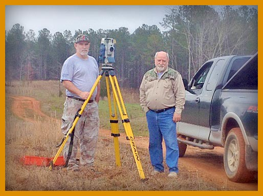 Our team of Land Surveyors has over 40 years of experience